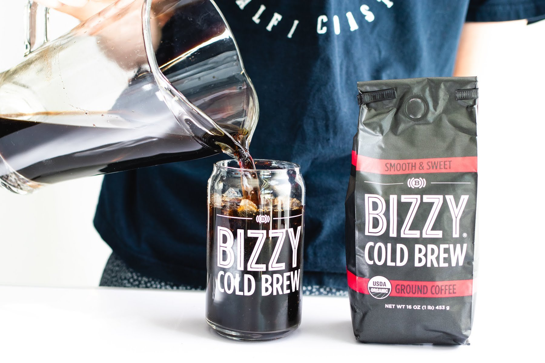 Bizzy Organic Cold Brew Coffee - Smooth & Sweet Blend - Coarse Ground Coffee - 1 Pound by Bizzy (Image #9)