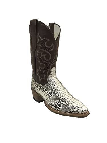 c1cd23816c561 Men s Python Sankeskin Cowboy Boots Handmade in Texas (8.5 ...