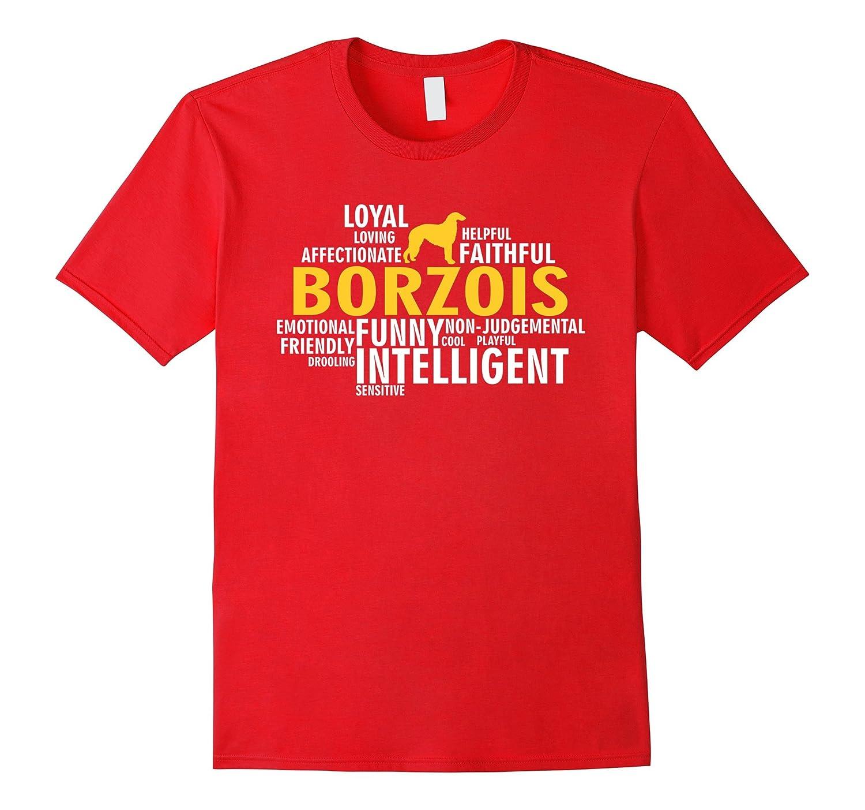 Borzois T-shirt - All Borzois Characteristics T-shirt-Art