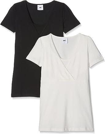 2 pack Mamalicious Organic Nursing Top Size 14 Breastfeeding Long Sleeve Black