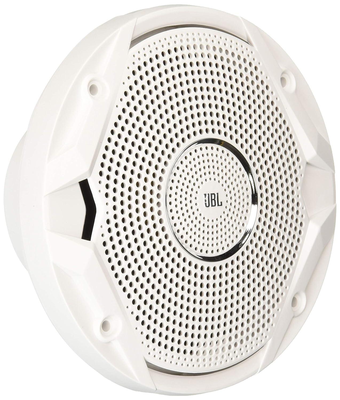 JBL MS6510 150-watt, 6-½ ' Dual Cone Marine Speakers - (Pair) White 6-½  Dual Cone Marine Speakers - (Pair) White JBL AUDIO