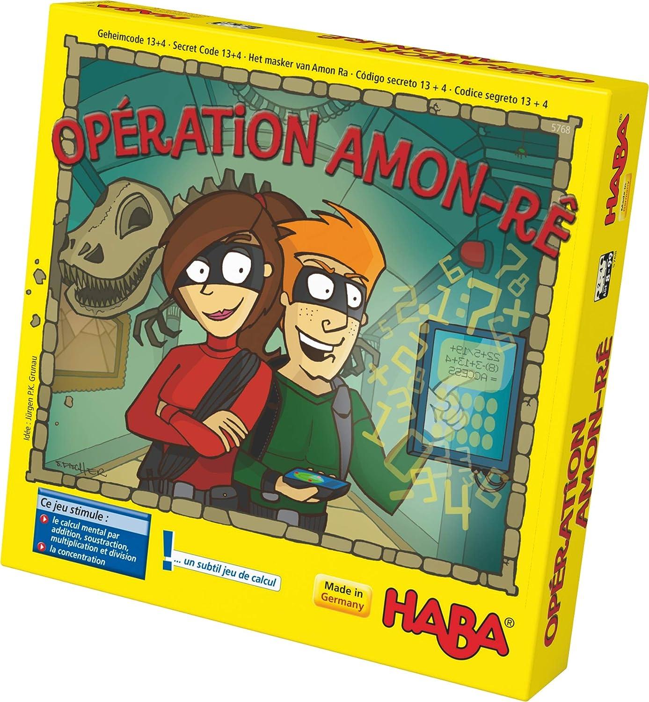 HABA 5768 - Juego de calculas, diseño de Operación Amon Rê: Amazon.es: Juguetes y juegos