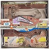 Fox Run 36007 Construction Cookie Cutter Set, Tin-Plated Steel, 6-Piece