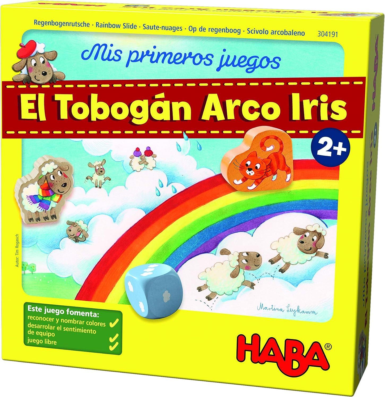 HABA Mesa, Mis Primeros Juegos. El Tobogán Arco Iris, (Habermass ...