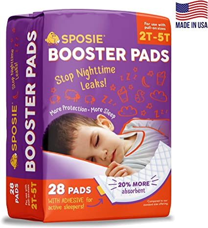 No More leaks 60 Count Dimples Booster Pads Baby Diaper Doubler with Adhesive with Adhesive for Secure Fit Boosts Diaper Absorbency