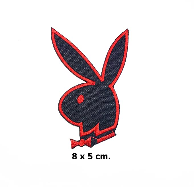 Amazon Playboy Bunny Rabbit Logo Jacket T Shirt Vest Patch
