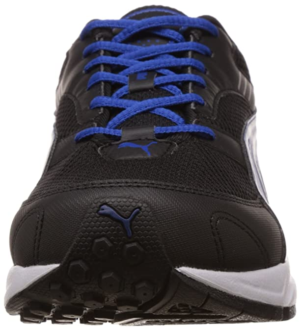 Puma Men s Pluto DP Black-Strong Blue-Silver Running Shoes - 7 UK India  (40.5 EU)  Buy Online at Low Prices in India - Amazon.in 89c57602b