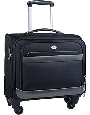 Rolling Laptop Case, COOFIT Nylon Rolling Laptop Briefcase Roller Laptop Bag