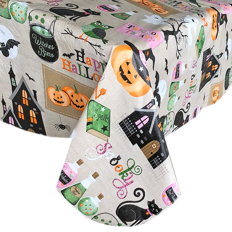 Amazon.com: Newbridge Happy Halloween Witches Brew mantel de ...