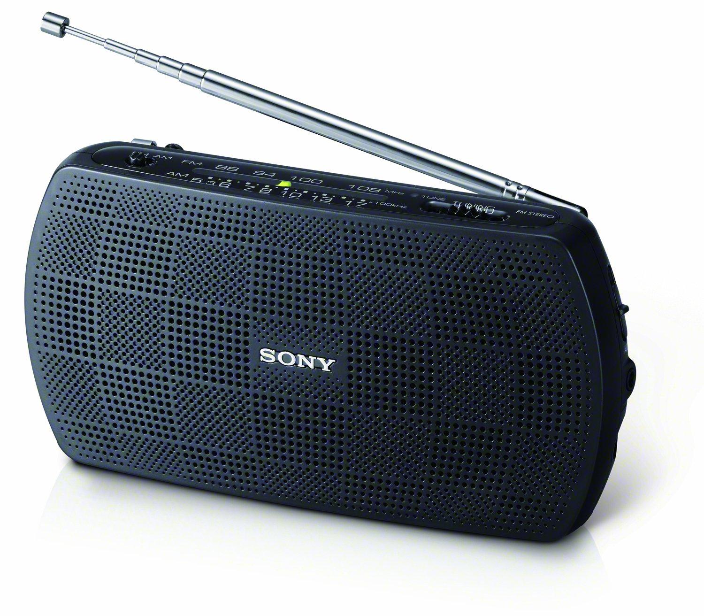 Sony SRF-18 Portable AM/FM Stereo Speaker with Built-In Amplifier