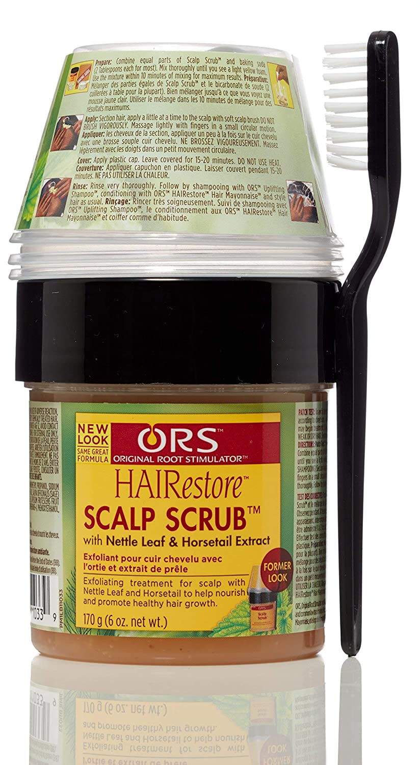 Organic Root Stimulator Scalp Scrub Stimulating Formula for Hair and Scalp, 6 Ounce Atlas Ethnic 11033
