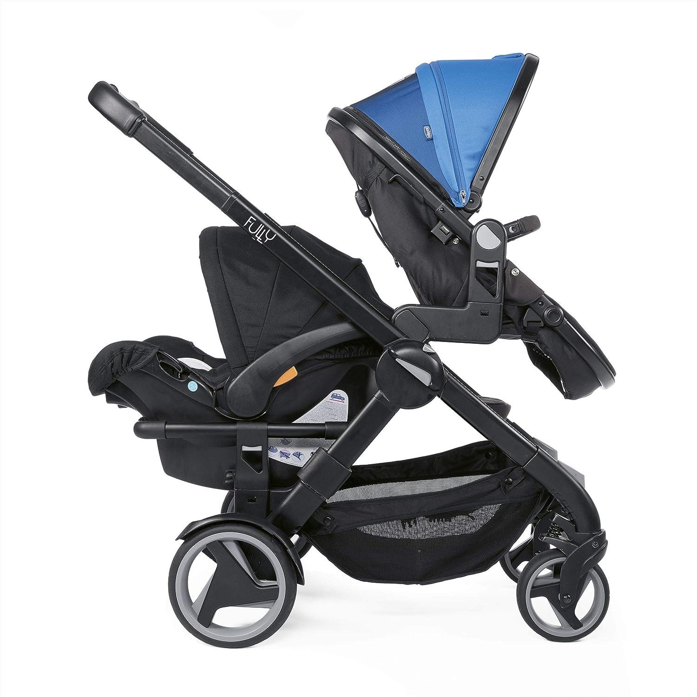 Chicco Fully Twin - Silla de paseo gemelar, capazo y silla de ...