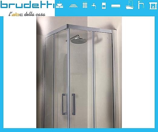 ⭐ Rainbox ⭐ ónice Box ducha 90 x 70 x 195H Izquierda rectangular cristal acabado Perfil de aluminio brillantato brillante ⭐: Amazon.es: Industria, empresas y ciencia