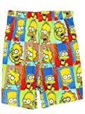 The Simpsons Family Men's Briefly Stated Boxer