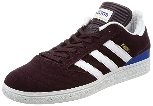adidas Busenitz, Chaussures de Skateboard Homme, Blanc (Ftwbla/Reauni/Ftwbla), 40 2/3 EU