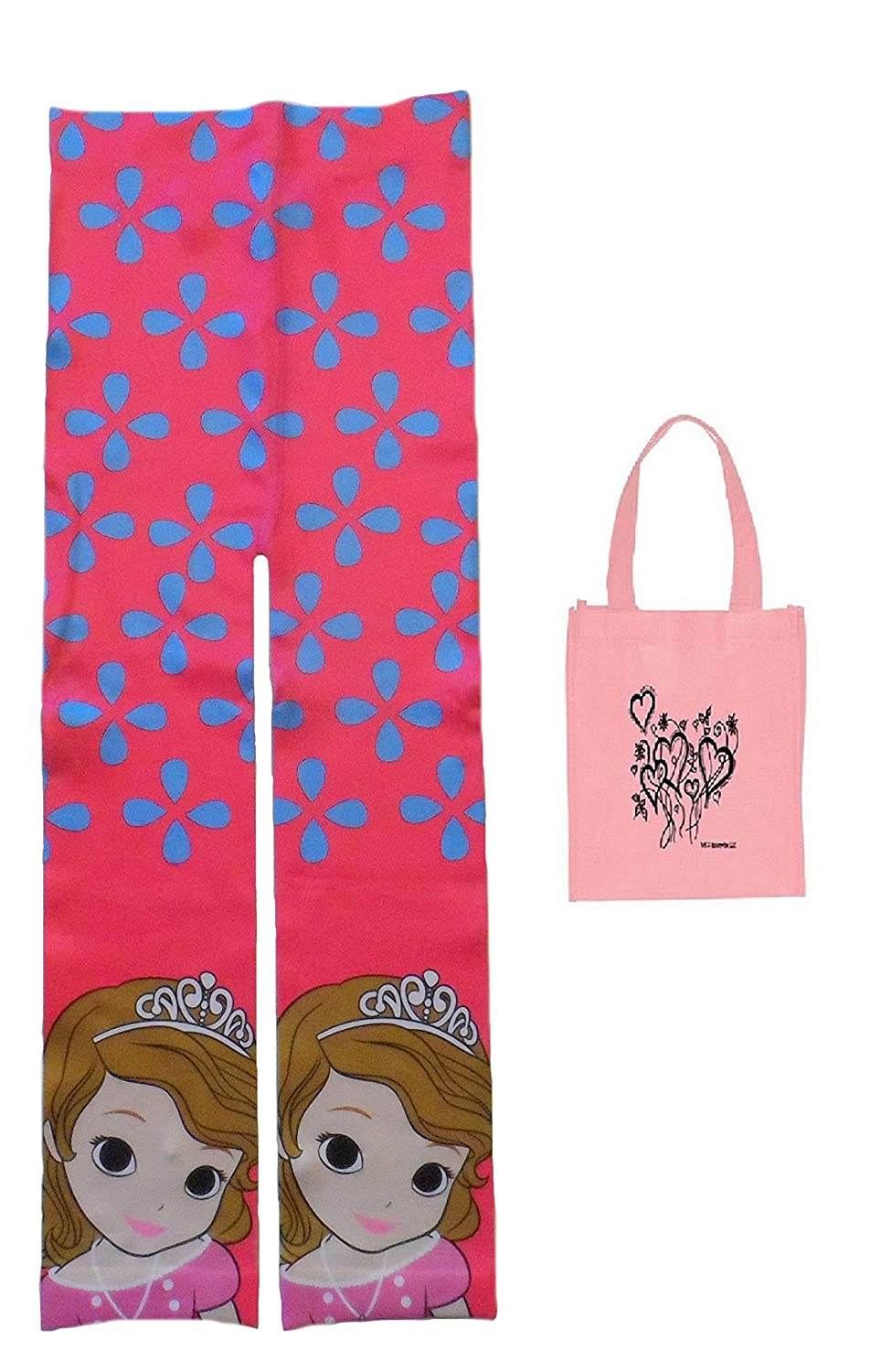 Disney Little Girls' Sofia the First Leggings & Tote - 2 Piece Gift Set