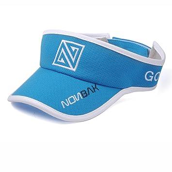Nonbak visera / visor unisex talla única muy ligera varios colores (BLUE): Amazon.es: Deportes y aire libre