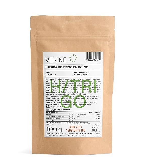 Hierba de Trigo en Polvo Ecológica 100 gr superalimentos VEKINE
