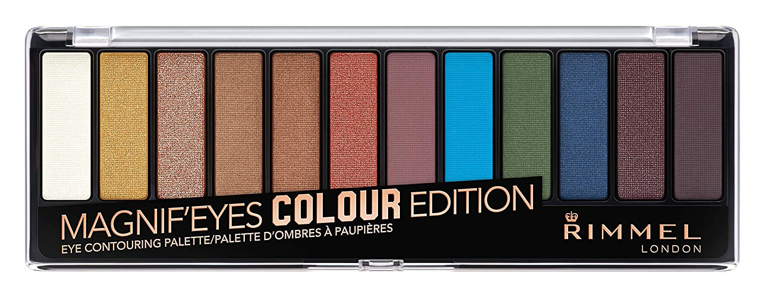 Rimmel Magnif'eye Eyeshadow Palette Nude Edition