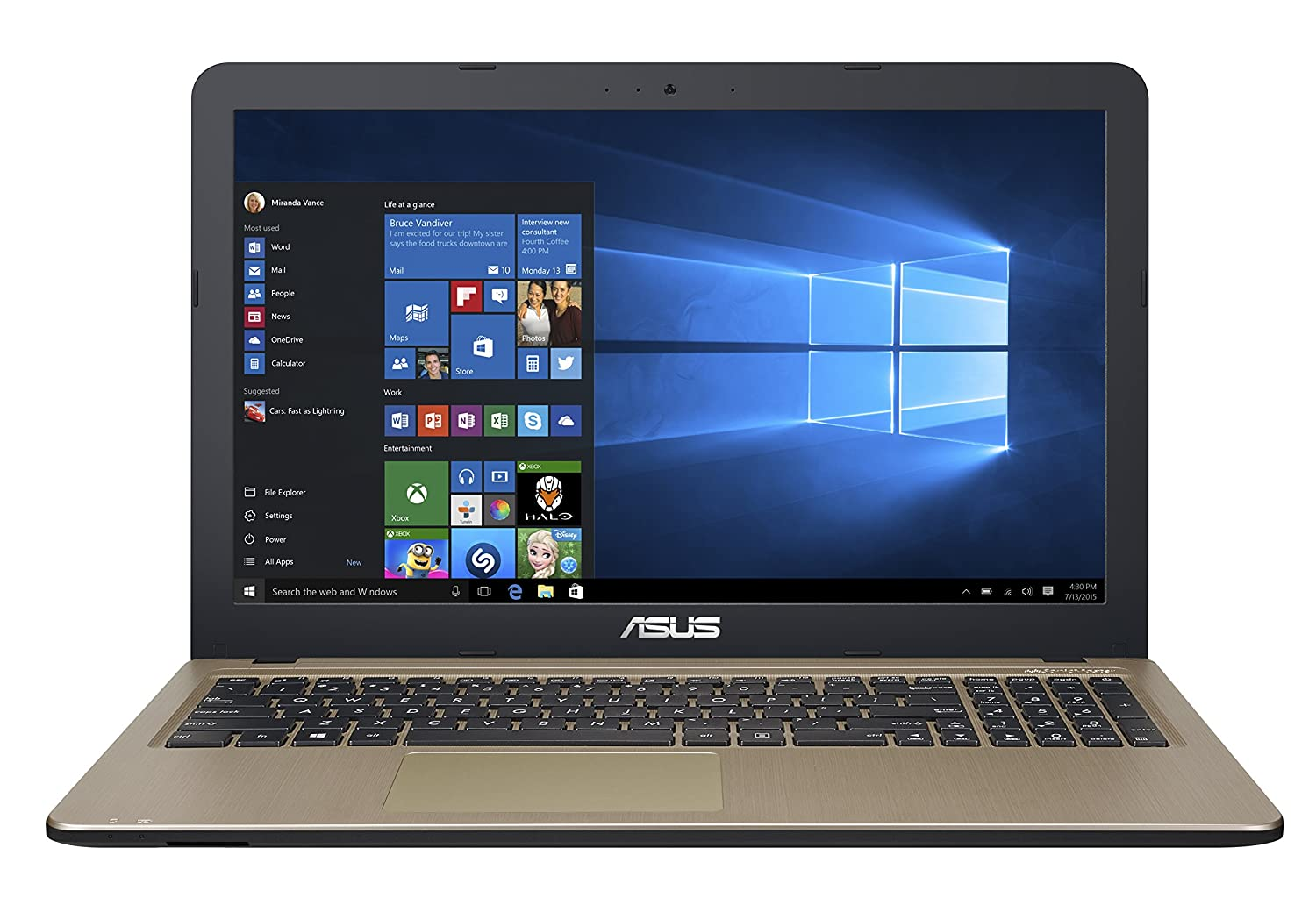 Asus Laptop X540NA in Kenya Intel Celeron 15.6'' 4GB RAM 1TB Hard Disk