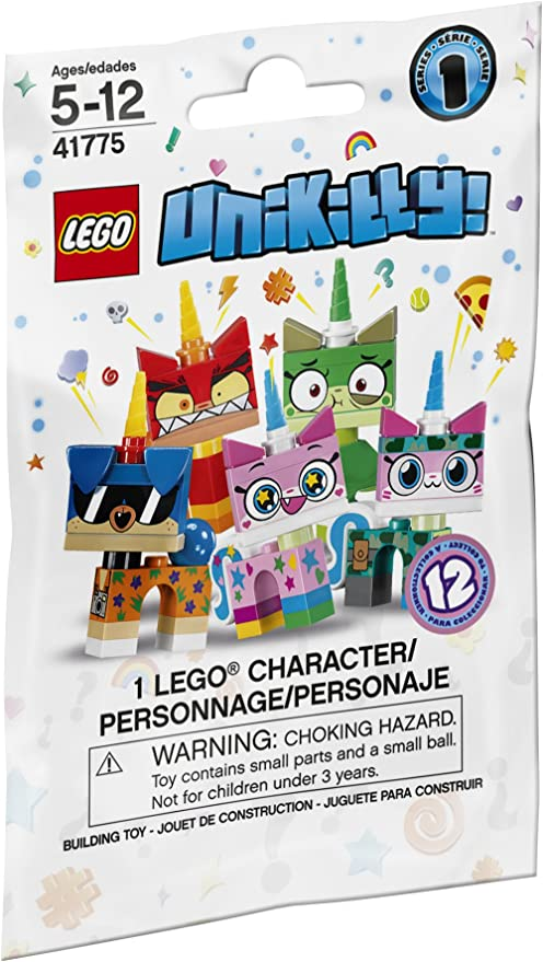 LEGO Complete set of 12-41775 UNIKITTY MINIFIGURE Series 1