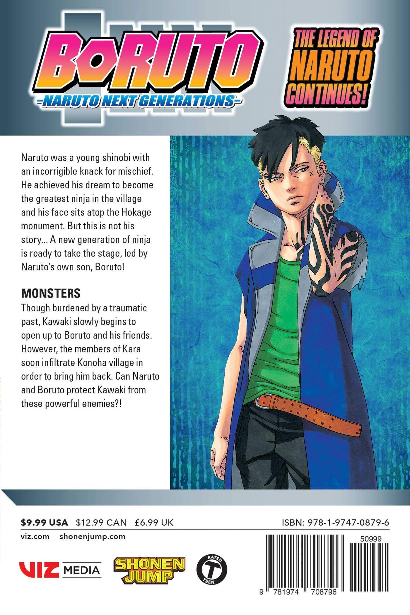 Boruto, Vol. 8: Naruto Next Generations Boruto: Naruto Next ...