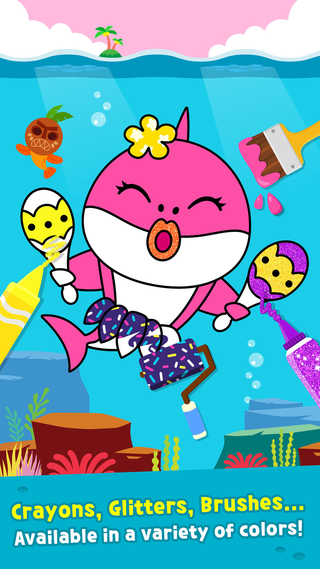 Amazon Com Pinkfong Baby Shark Coloring Book Appstore