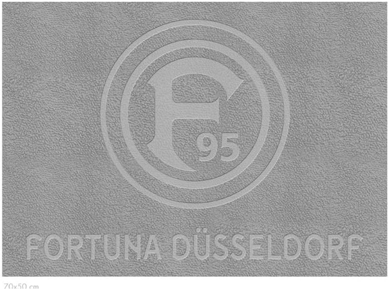 Fortuna D/üsseldorf Duschvorleger Pr/ägung Fanartikel Lizenz