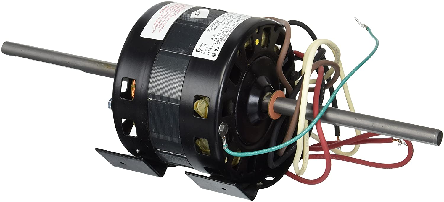 1 4hp 115 Volt 1625rpm 2 Speed Coleman 6757b311 Rv Air Conditioner Mach 3 Wiring Motor Ao Smith Orv4538 Electric Fan Motors