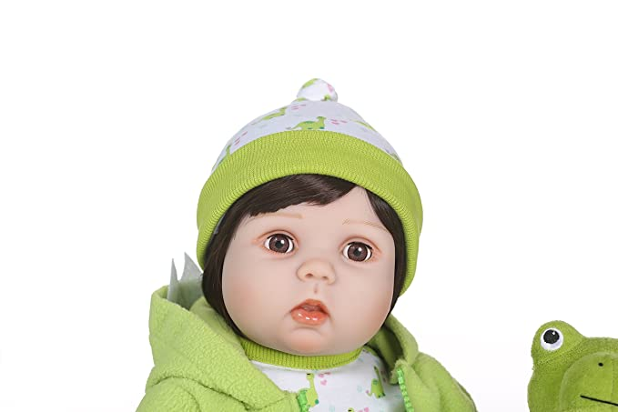 Amazon.com: NPK colección muñecas Reborn Baby de silicona ...
