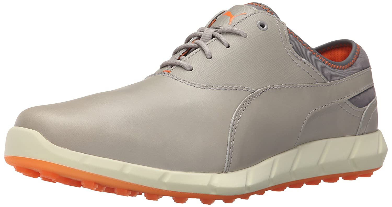 PUMA  メンズ ゴルフシューズ イグナイト スパイクレスモデル 8.5 Drizzle/Vibrant Orange B013J5TNIM