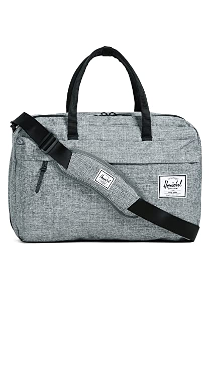 d7554b0f1d9f Herschel Travel Bowen 36 Litre Duffle Luggage Bag Raven Crosshatch  Amazon. co.uk  Shoes   Bags