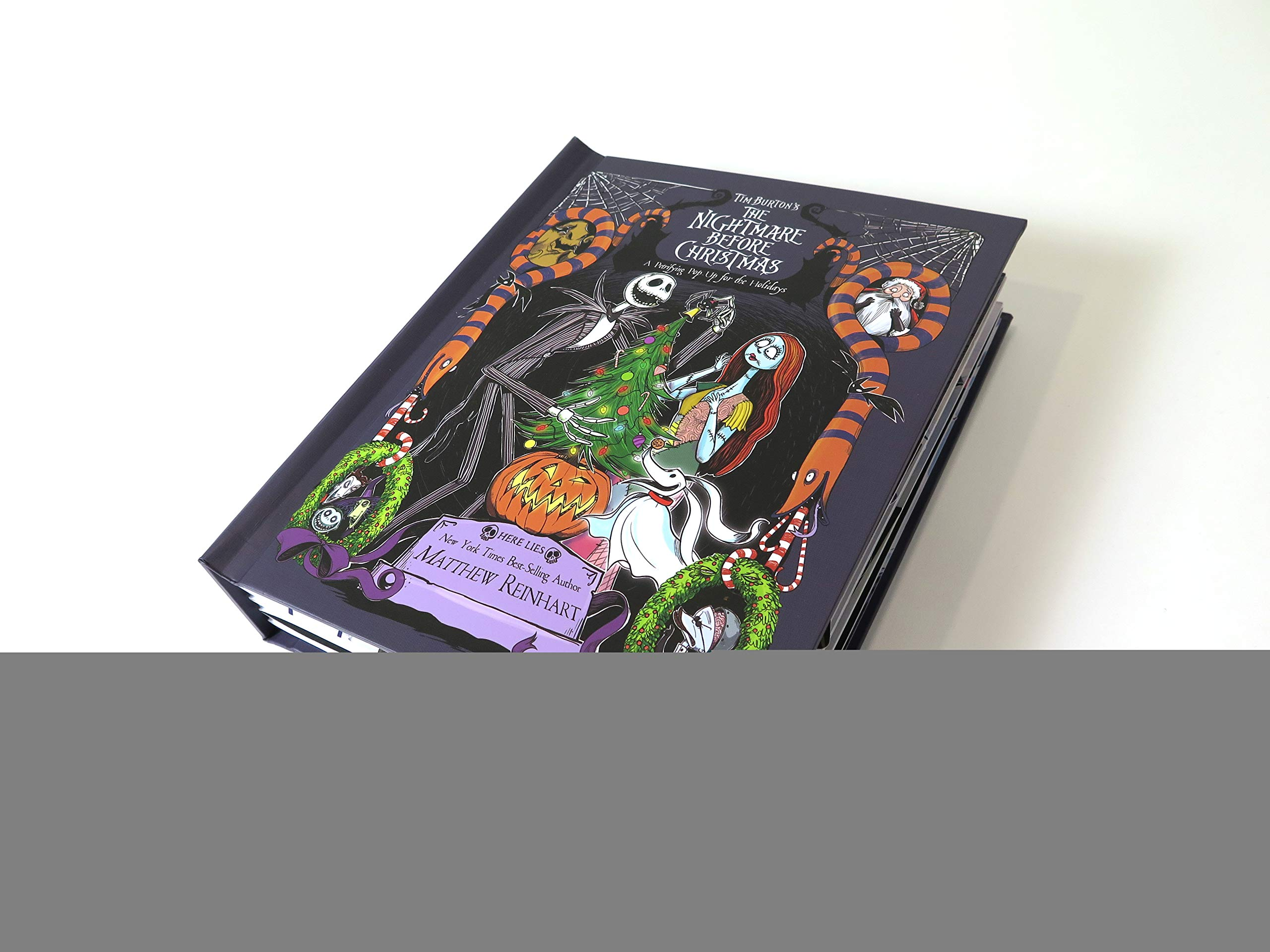 Amazon.com: Tim Burton\'s The Nightmare Before Christmas Pop-Up: A ...