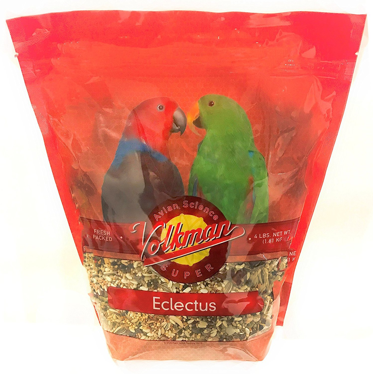 Volkman Seed Avian Science Super Eclectus Nutritionally Balanced Food 4lbs Seed Factory Inc.