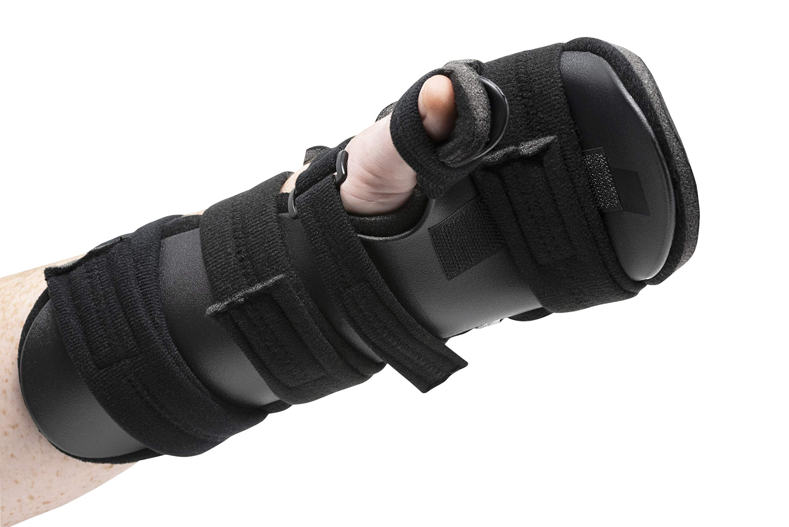 Stroke Hand Splint- Soft Resting Hand Splint for Flexion Contractures, Comfortably Stretch and Rest Hands for Long Term Ease with Functional Hand Splint, an American Heritage Industries(Left, Small) by American Heritage Industries (Image #7)