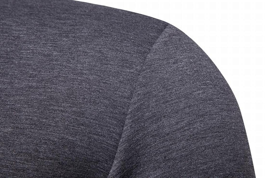 Rrive Mens Hipster Long Sleeve Color Block Slim Fit Pullover Sweatshirts
