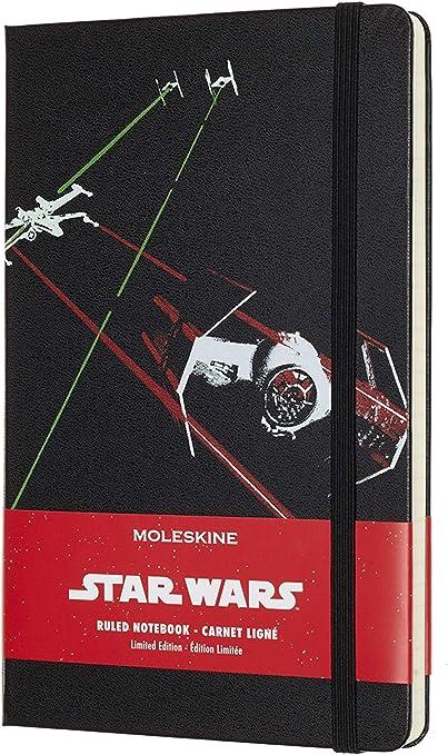 a Righe Copertina Rigida Moleskine Star Wars Taccuino in Edizione Limitata Tie Fighter