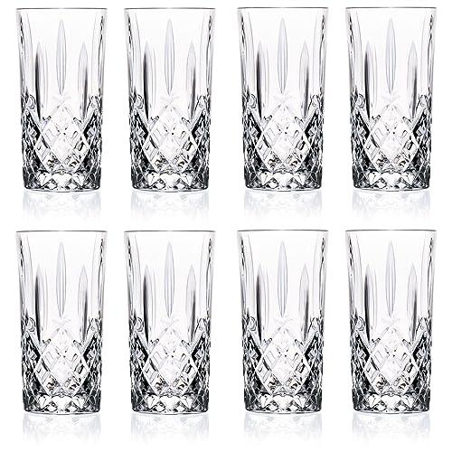 RCR Crystal Orchestra Crystal Hiball Glasses - 396ml (13.5oz) Set Of 8