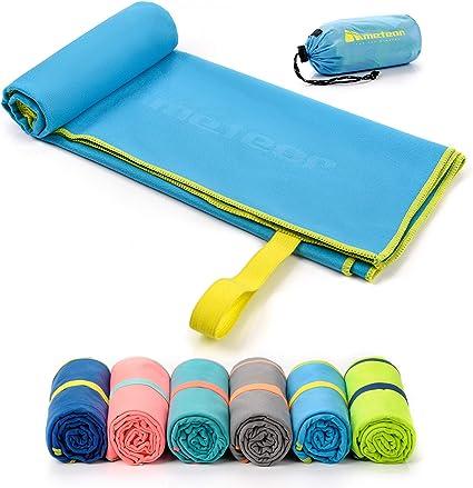 Microfibre Towel Travel Large Bath Camping Sports Beach Gym Yoga Quick Dry