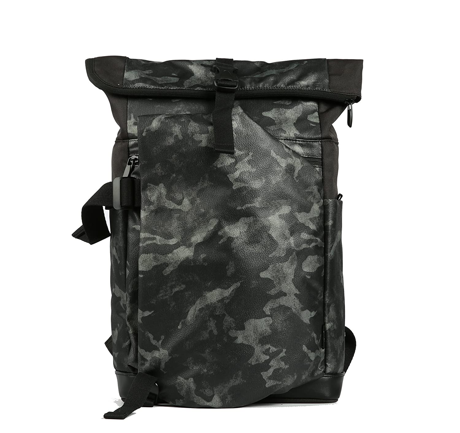 17d9f1629fc1 Cai 15.4   Business Laptop-rucksack Anti-theft Backpack Rolltop Rucksack  Multifunctional Water