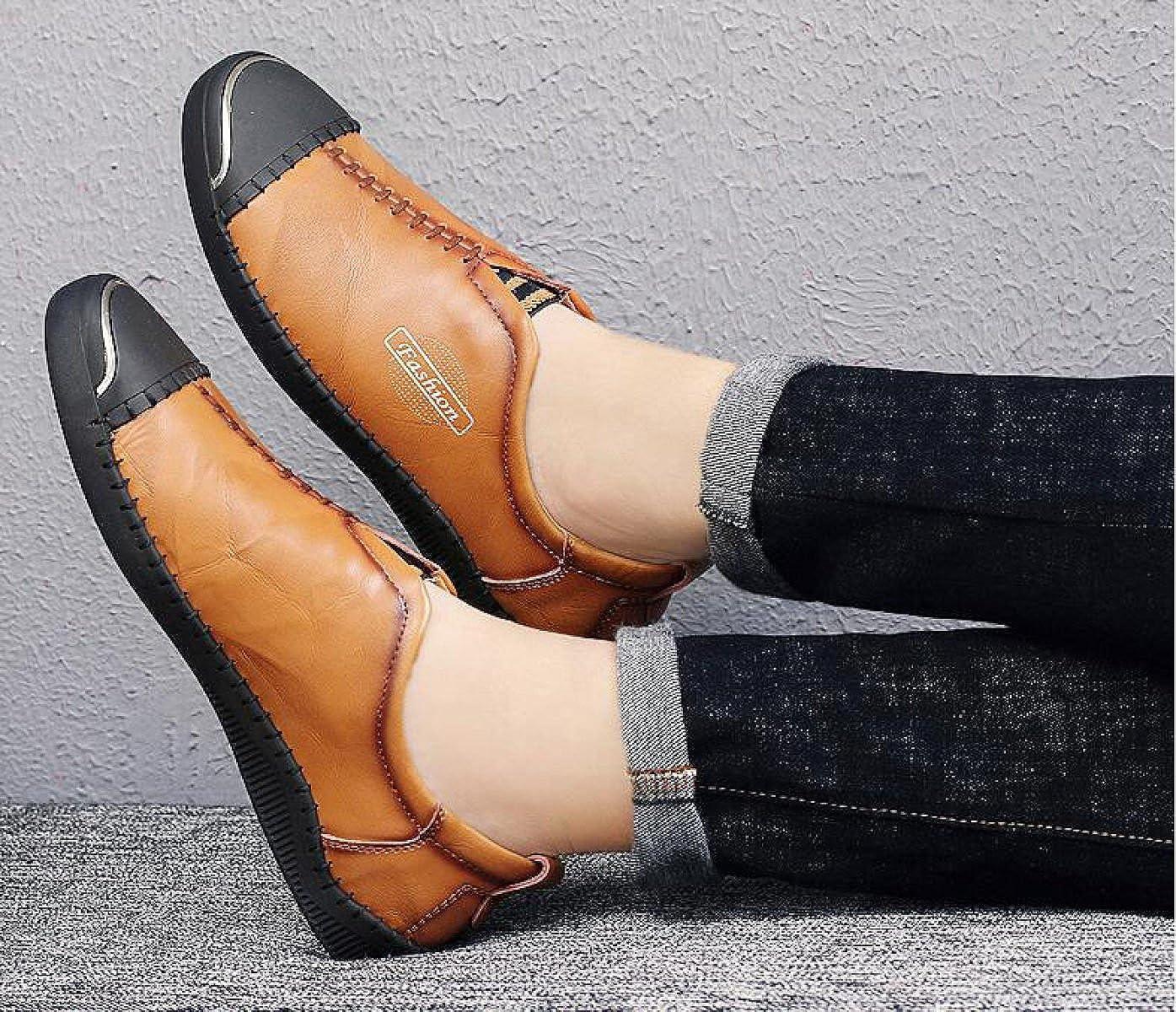 GTYMFH Herbst Und Winter Männer Männer Männer Schuhe Leder England Herrenschuhe Sets Von Schuhen Mode Freizeitschuhe 52582e