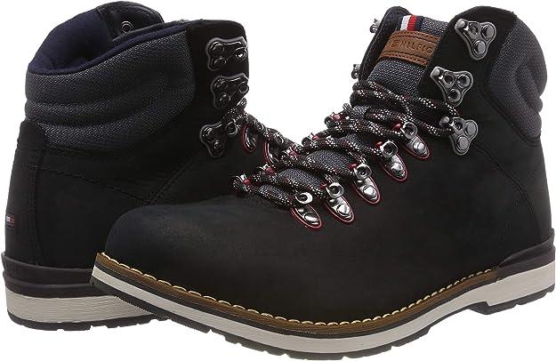 Tommy Hilfiger Herren Outdoor Hiking Detail Combat Boots