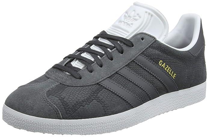 adidas Damen Gazelle Sneaker Grau (Gricin) mit grauen Streifen