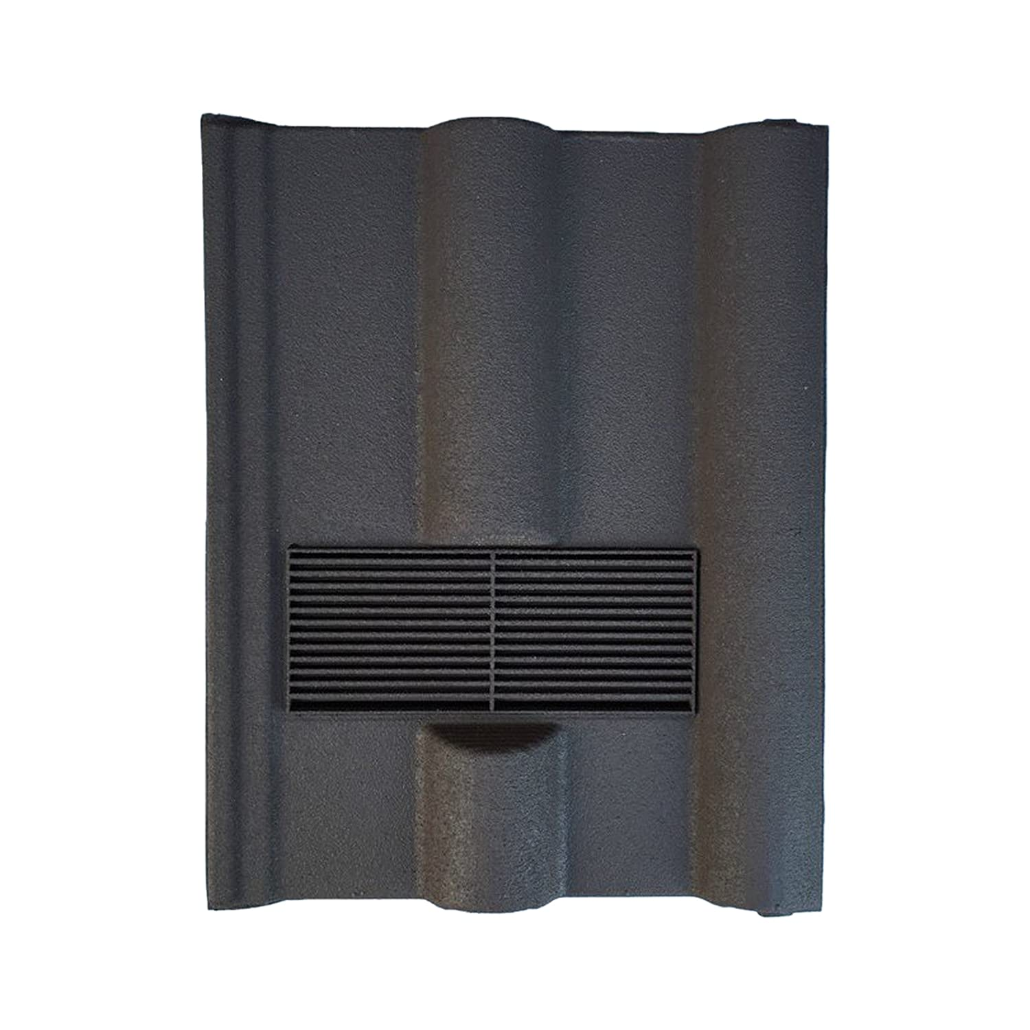 Brown - Sanded Available in 8 Colours Beddoes Products Roof Tile Vent To Fit Marley Wessex Roof Tiles With Pipe Adaptor For Extractor Pipe Connection