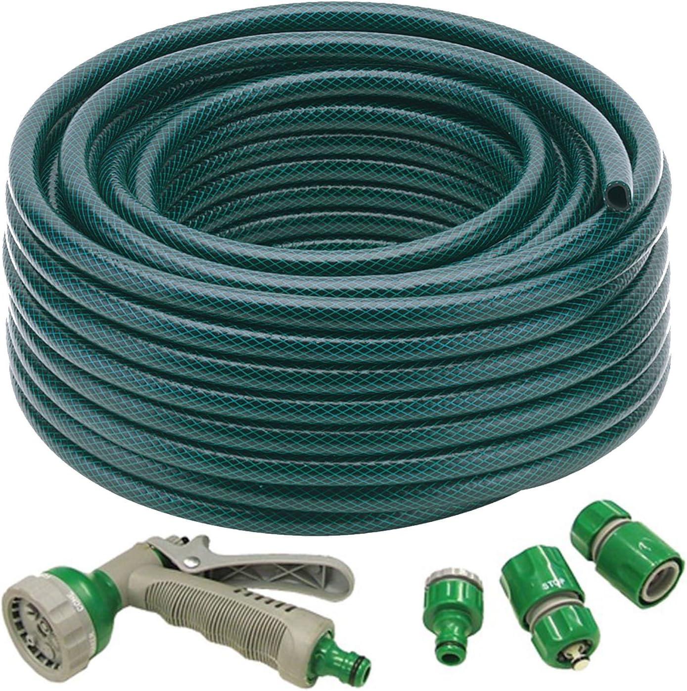 "Hozelock 30M Hose Starter Hosepipe Garden Water Watering Pipe 1//2/"" 30 Metre"