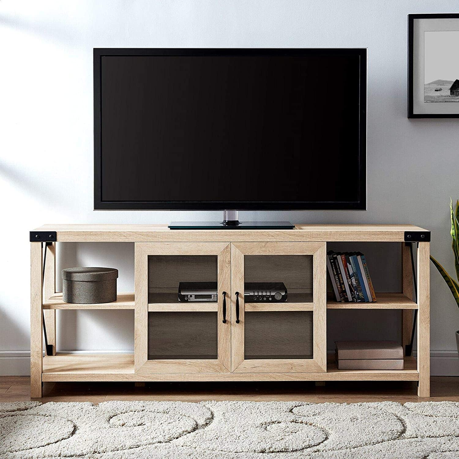 Arsenault Tv Stand For Tvs Up To 65 Home Audio Theater