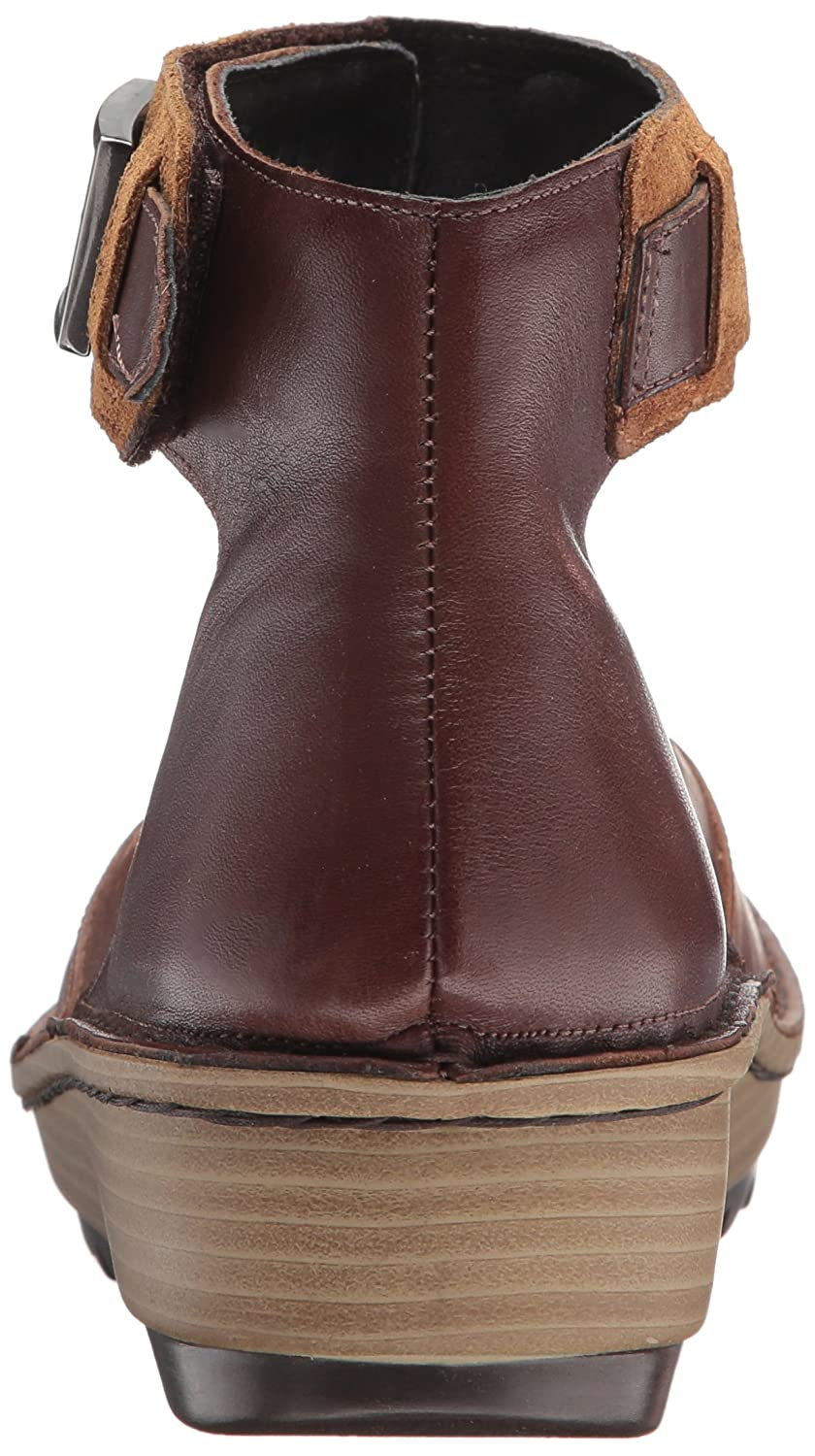 NAOT Women's Sycamore Mary Jane Flat B01N24P4BB 38 Medium EU (7 US) Vintage Camel Leather/Toffee Brown Leather/Desert Sued