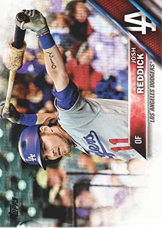 d44e2d8d1 Image Unavailable. Image not available for. Color  2016 Topps Update  Baseball  US111 Josh Reddick Los Angeles Dodgers