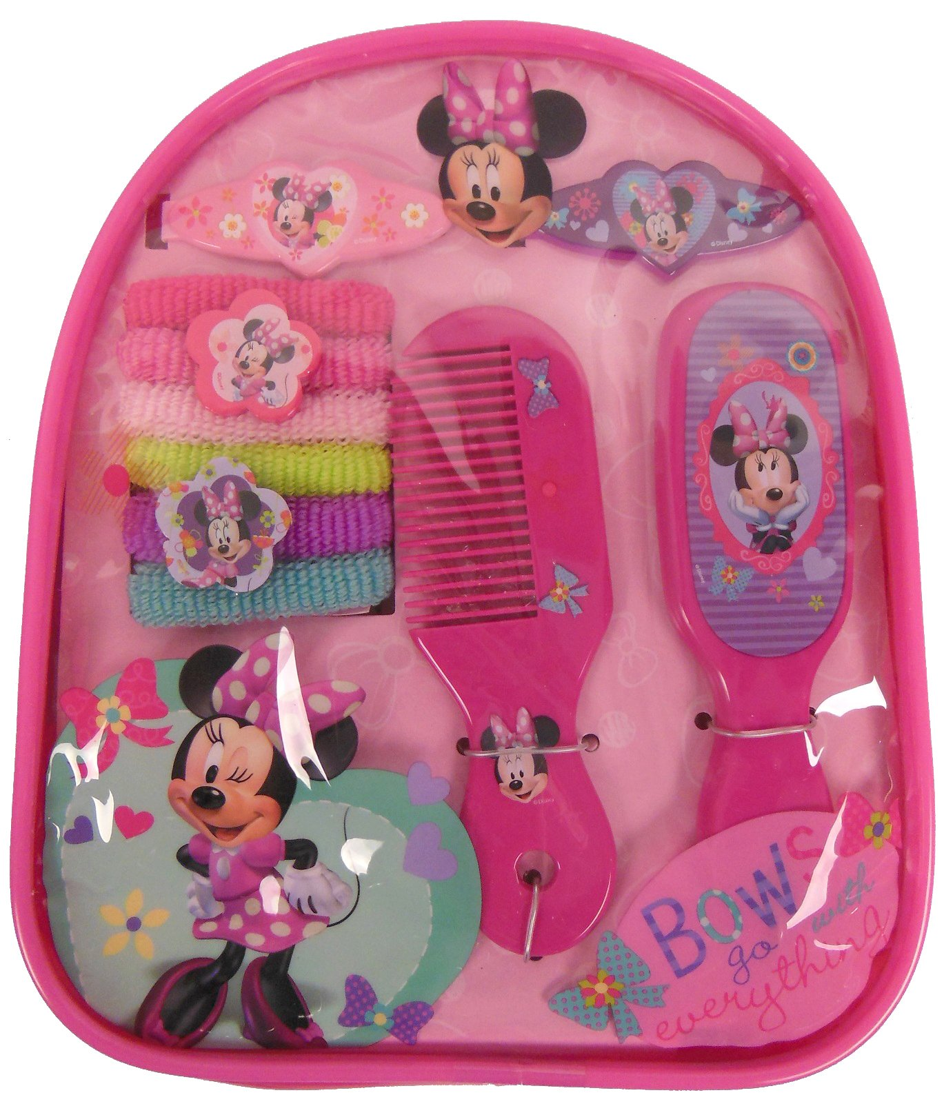 Disney Junior Minnie Mouse Bowtique Hair Accessory Gift Set (MM402) by Disney, Acpbags (Image #1)