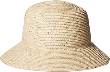 03890927a8c Orchid Row Sparkle Straw Bucket Hat with Sequins